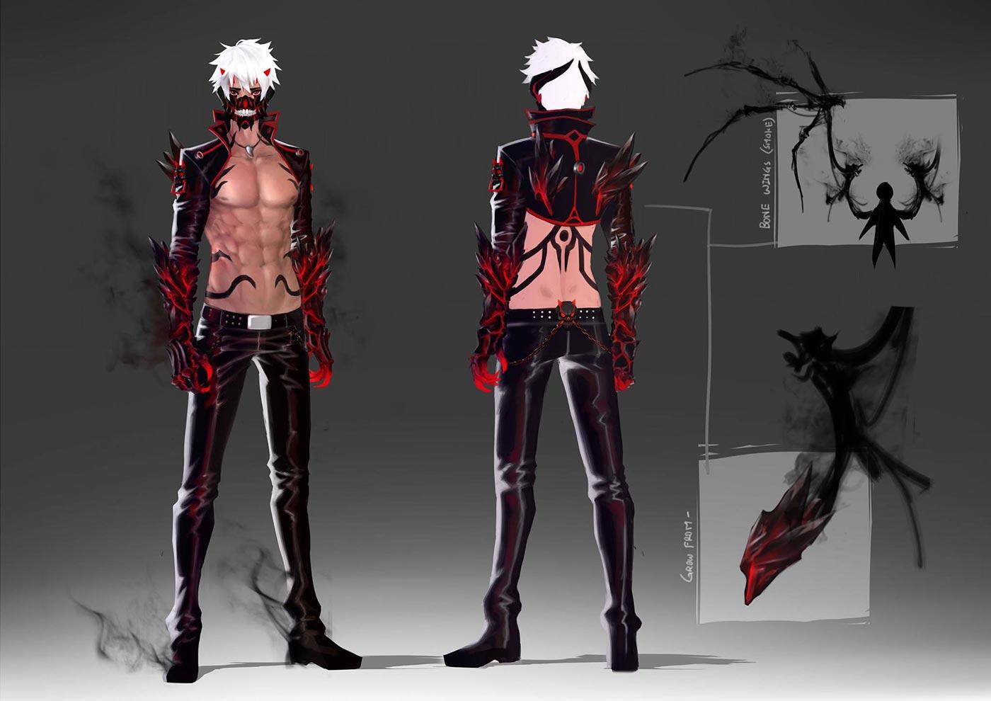 2D - Character Concept Art