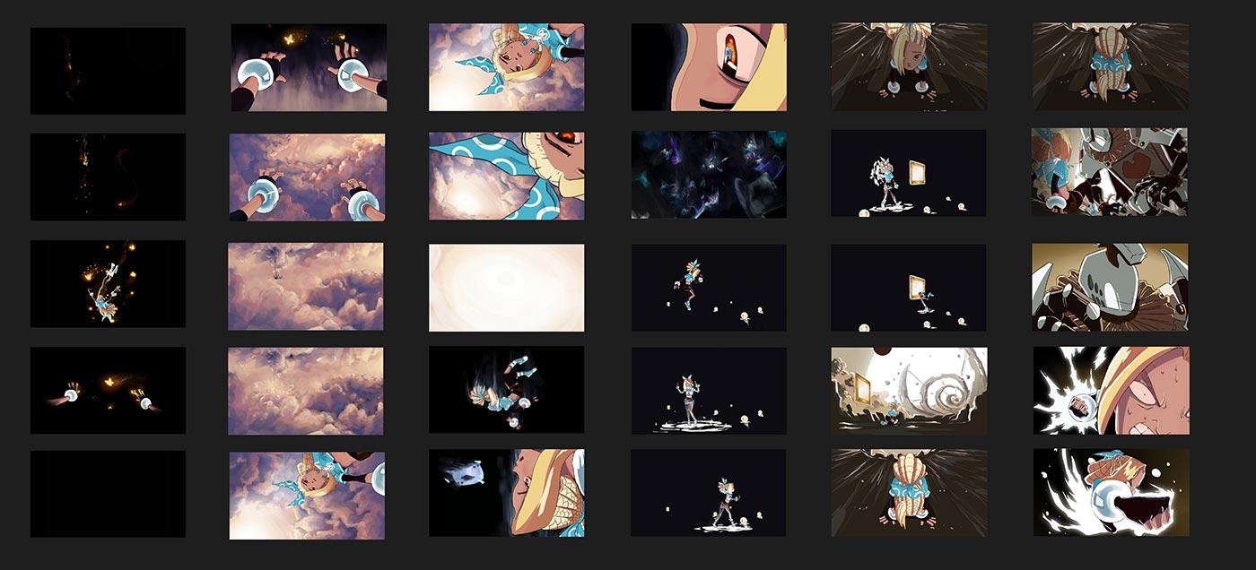 2D - Story Board