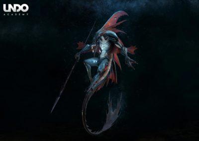 Creature Modeling by Chew Kean Yang